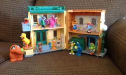 13 Characters and Mr Hooper's Store. Good condition.