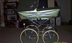 I have a Silver Cross pram brought over from Emgland in the late 60's early 70;s. This pram is in excellent shape. This has been in our family since new, and asking $275 E mail me any questions