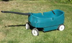 A Green wagon with benches in a very good condition in Glamorgan SW. Pick up only.