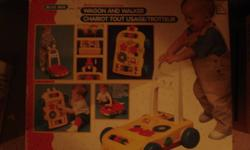 Very good condition. two in one wagon and walker. e-mail or call 519-686-5049