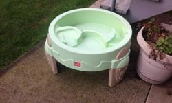 Child watertable. Great if your child loves playing with water.