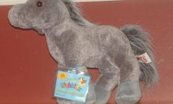 For Sale: Webkinz Animals. Four Horses - Two Are The Same, But One Is New With Never Opened Code. Also A Floppy Pig, Seal And Little Husky. All In Great Condition. Asking $3 For One Of The Big Ones, $2 For The Husky And $6 For The One With The Code.