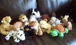 14 Webkinz in total...in great condition.