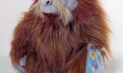 New Webkinz Orangutan Primate with Sealed Code.