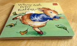 """""""Each page invites your child to discover differentfeels and textures as they are introduced to Peter Rabbit and his friends. ISBN 0-7232-4893-1"""