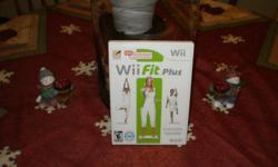 Forsale Wii fit plus game ONLY very little use. Price $ 20.00 firm email me or call tomorrow only 753-1110  from 7 till 7 pm or after 7:30 pm at 485-1420