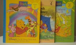 Titles * Good as Gold * How Pooh Got His Honey * Fun is Where You Find It Very good condition.