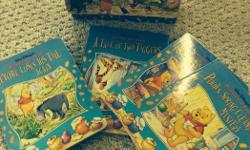 Wonderful Winnie the poo box set of four beautifully illustrated books in vibrant colour.