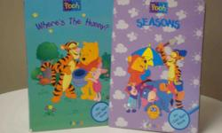 Titles * Where's the Hunny? * Seasons Children search the pages for various items. Excellent condition.