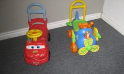 Perfect for Christmas!!!! Up for sale Winnie the Pooh $10 and Cars $20. From home and pet free. Charleswood area.