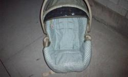 Winnie The Pooh carseat, it doesnt come with a base. My daughter has outgrown it. It could be used as a baby seater or whatever you'd like. It has been all washed, and is ready to go. Asking $15, pick up only please. See my other ads for more baby items /