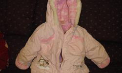 I have 2 winnie the pooh snow suits size 6-12 mths. can wear the jacket by itself or snow pants attach around the waist. Smoke free home. Please make me an offer