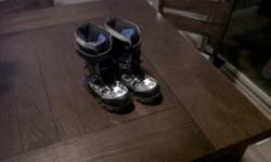 spiderman winter boots size 1 no longer light up $10 good condition from smoke free home in warman