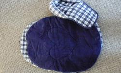 I have a blue winter car seat cover for sale for only 10.00. It comes from a smoke free pet free home.