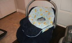 Winter carseat cover excellent used condition $30.00