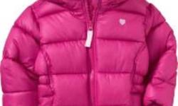 Brand new Old Navy winter coat for girl size 4.   Tags still attached.   From a smoke free home.