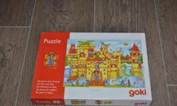 Fun wooden castle puzzle.