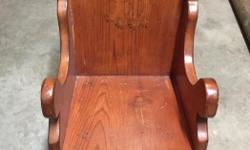 Wooden rocking chair 30 obo