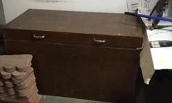 Old wooden toy box 50 obo