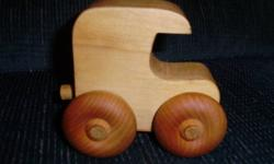 I am selling this toy wooden truck. It is in great condition, just no longer played with. Can be delivered. **Check out my other ads**