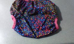 girls pull on diaper cover. Size 30-60 lbs   Smoke free, pet free home