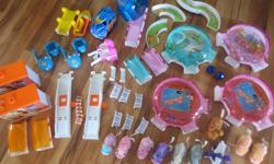Large set of Zhu Zhu Pets and Accessories. I would like to sell it all as a complete set.