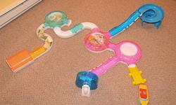 Zhu Zhu pets play set includes starter set, hamster funhouse set, wheel, slide & ramp, boat & dock, add on garage and skateboard with u turn. Can be taken apart and put together many different ways. In excellent condition. Hamsters not included. $40 ono.