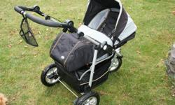 Reversible seat design allows baby to face you or the road ahead, and, best of all its infant car seat compatible - no need for a special adapter bar. The Boogie comes complete with Full Boot, Rain Cover, Glare Filter/Bug Net, Infant carrier security